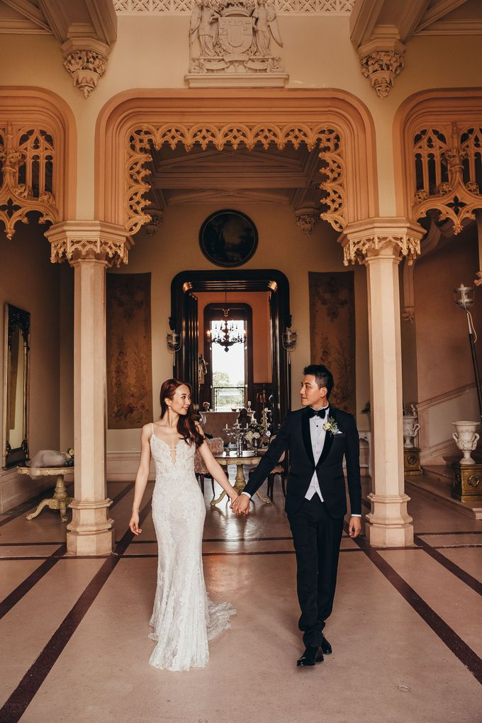 Kaylen & Anson by Chateau Challain Events - 044