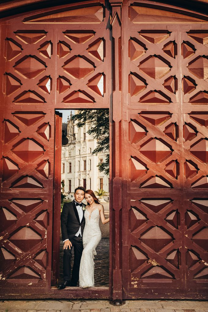 Kaylen & Anson by Chateau Challain Events - 001
