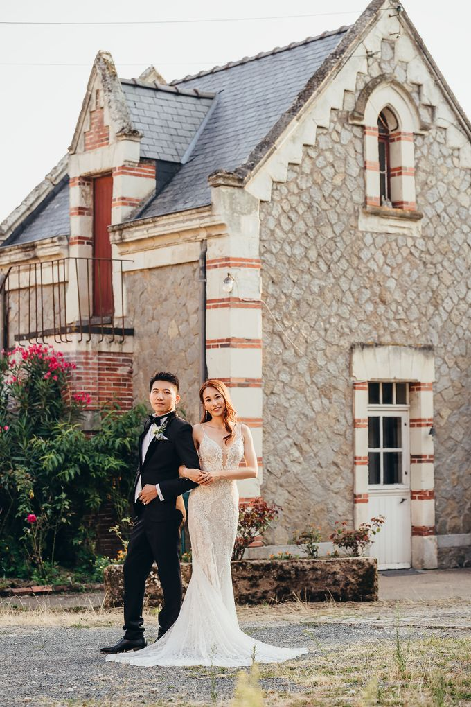 Kaylen & Anson by Chateau Challain Events - 007