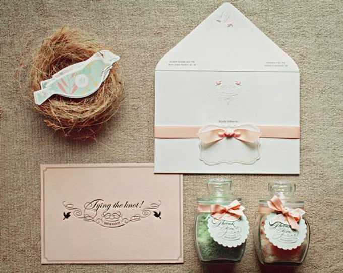 Wedding Invitation by Le Paperville - 004