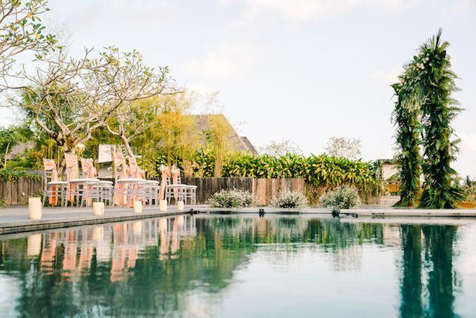 Forest Pool Wedding by Bisma Eight - 002