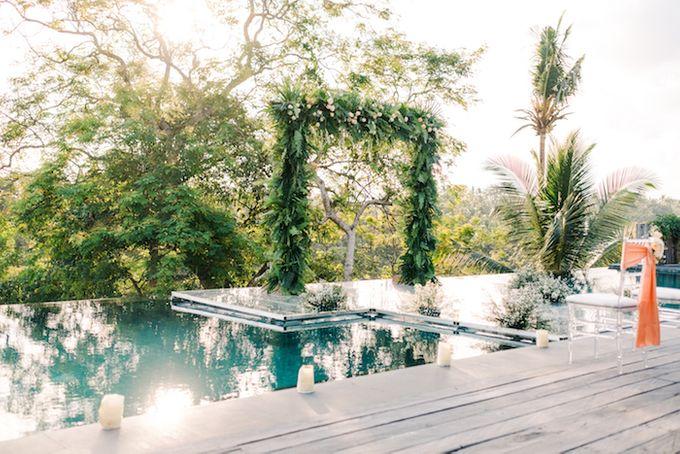 Forest Pool Wedding by Bisma Eight - 005