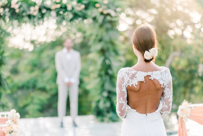 Forest Pool Wedding by Bisma Eight - 006