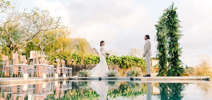 Forest Pool Wedding by Bisma Eight - 007