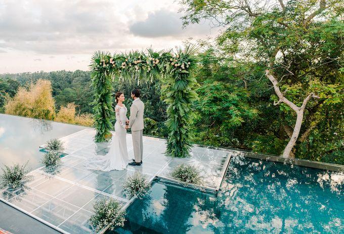 Forest Pool Wedding by Bisma Eight - 009