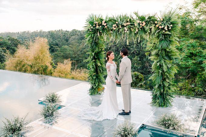 Forest Pool Wedding by Bisma Eight - 010
