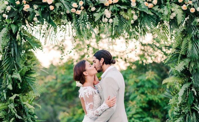 Forest Pool Wedding by Bisma Eight - 011