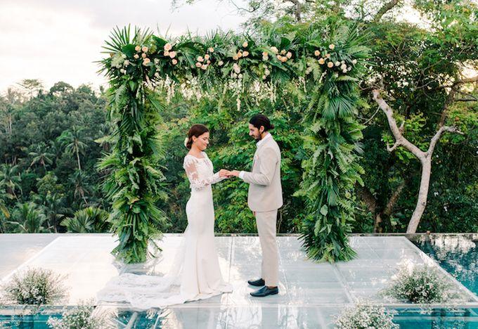 Forest Pool Wedding by Bisma Eight - 012