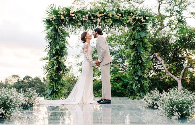 Forest Pool Wedding by Bisma Eight - 013