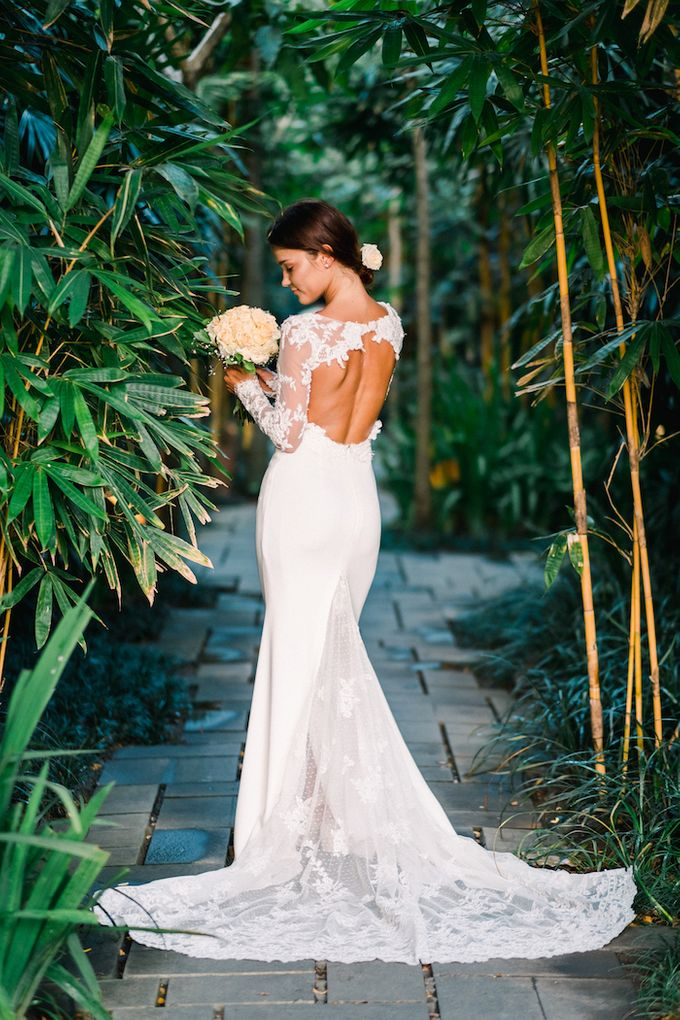 Forest Pool Wedding by Bisma Eight - 014