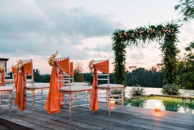 Forest Pool Wedding by Bisma Eight - 020