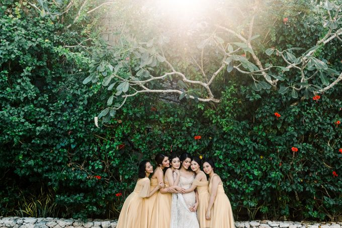 Wedding of Ana Octarina & Adie Baron by Tirtha Bridal - 008