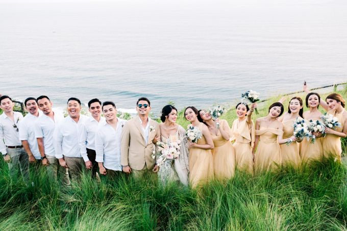 Wedding of Ana Octarina & Adie Baron by Tirtha Bridal - 025