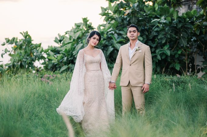 Wedding of Ana Octarina & Adie Baron by Open Quarter Tailor - by Brillington Brothers - 006