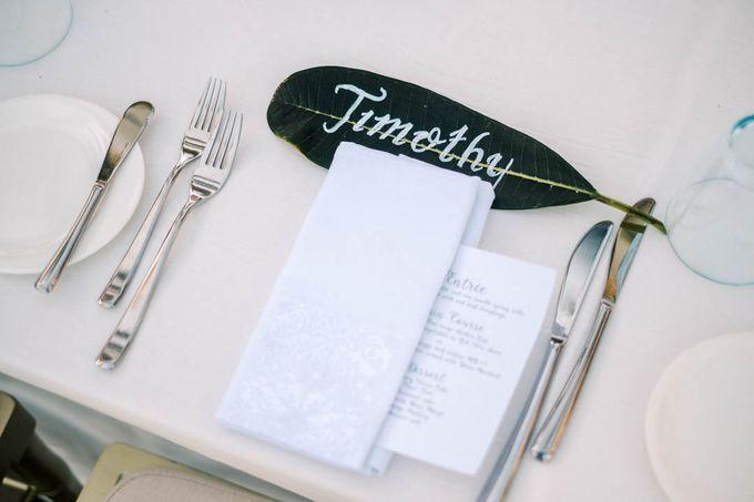 Wedding of Melissa & Timothy by Tirtha Bali - 025