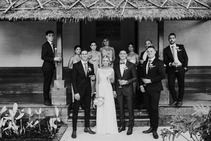 Wedding of Melissa & Timothy by Tirtha Bridal - 033