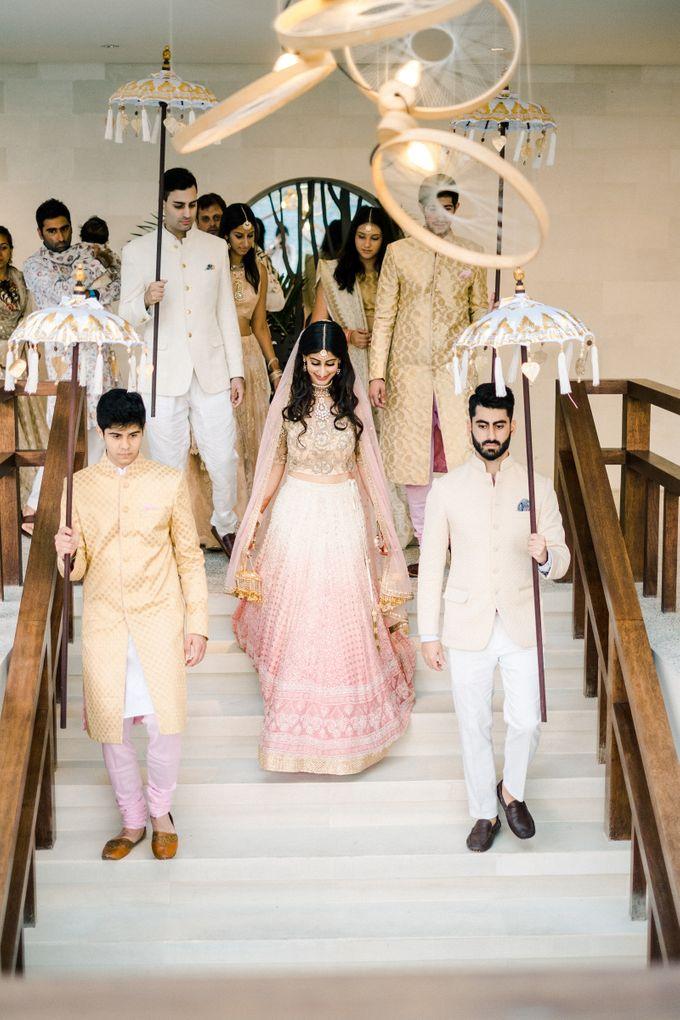 Indian Wedding at Tirtha Uluwatu by Tirtha Bridal - 010