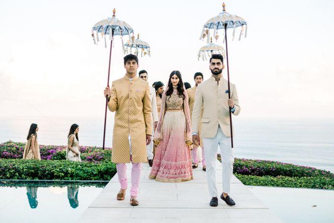 Indian Wedding at Tirtha Uluwatu by Tirtha Bridal - 014