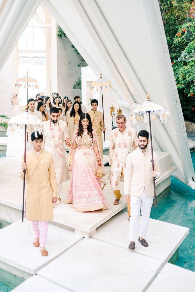 Indian Wedding at Tirtha Uluwatu by Tirtha Bridal - 021