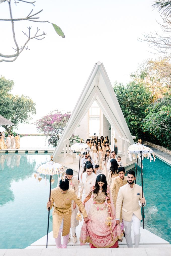 Indian Wedding at Tirtha Uluwatu by Tirtha Bridal - 023