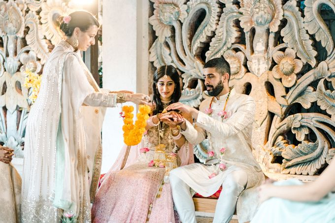 Indian Wedding at Tirtha Uluwatu by Tirtha Bridal - 033