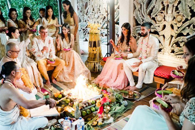 Indian Wedding at Tirtha Uluwatu by Tirtha Bridal - 041