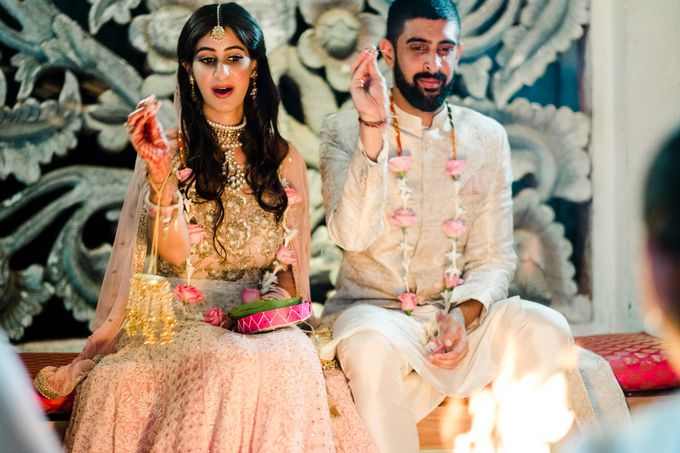 Indian Wedding at Tirtha Uluwatu by Tirtha Bridal - 042