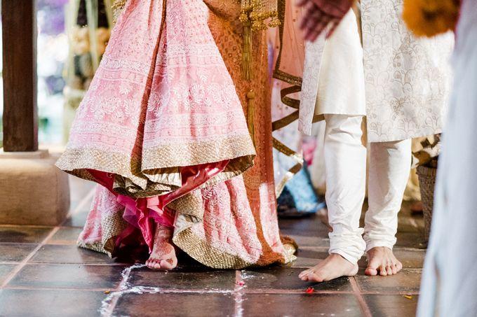 Indian Wedding at Tirtha Uluwatu by Tirtha Bridal - 030