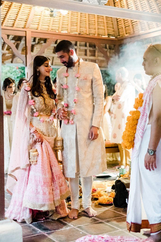 Indian Wedding at Tirtha Uluwatu by Tirtha Bridal - 045