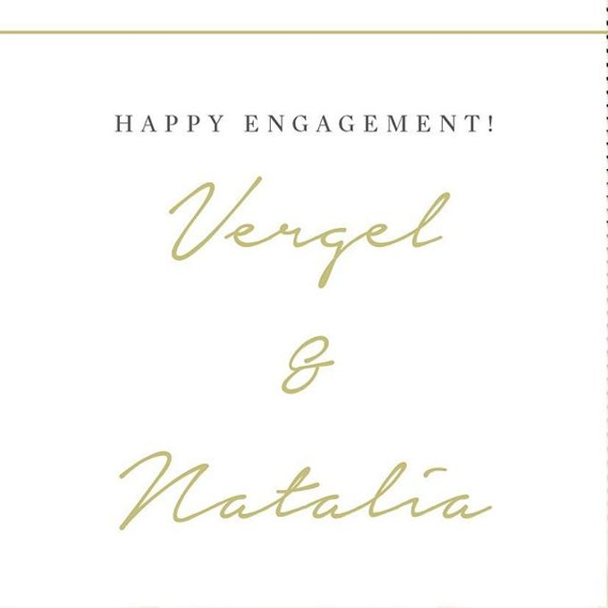 Engagement of Natalia & Verhel by Vibonacci Event Crafter - 004