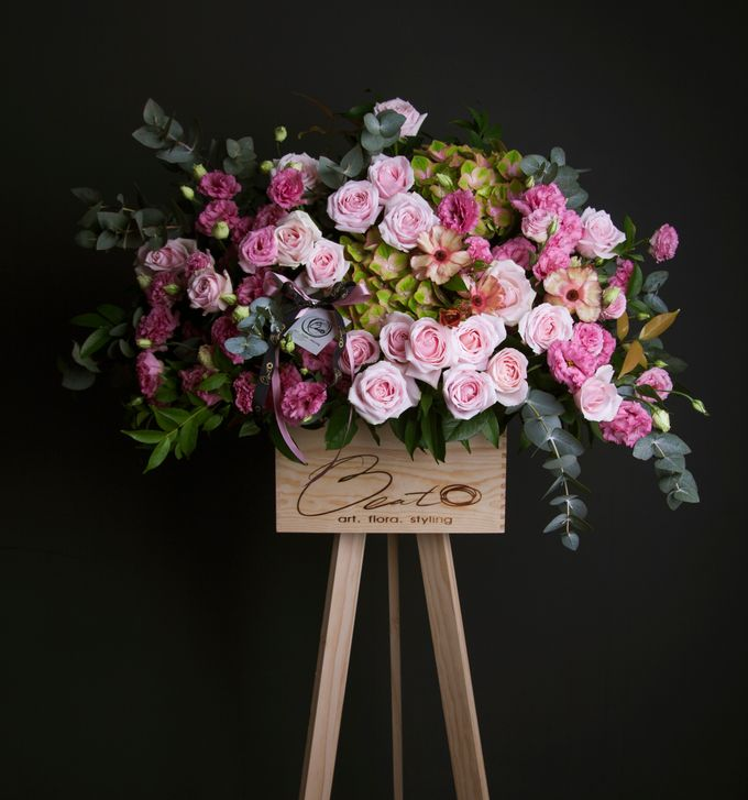 Flora stand Styling - celebration by Beato - 006