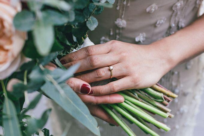 Rustic Wedding of Miranda & James by Elly Liana Makeup Artist - 002