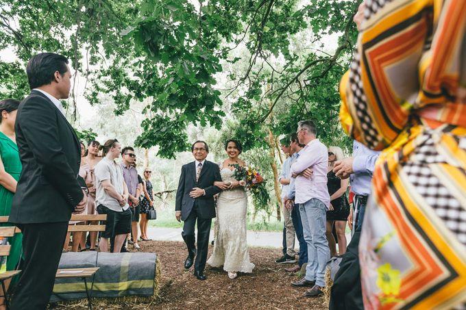 Rustic Wedding of Miranda & James by Widfotografia - 017