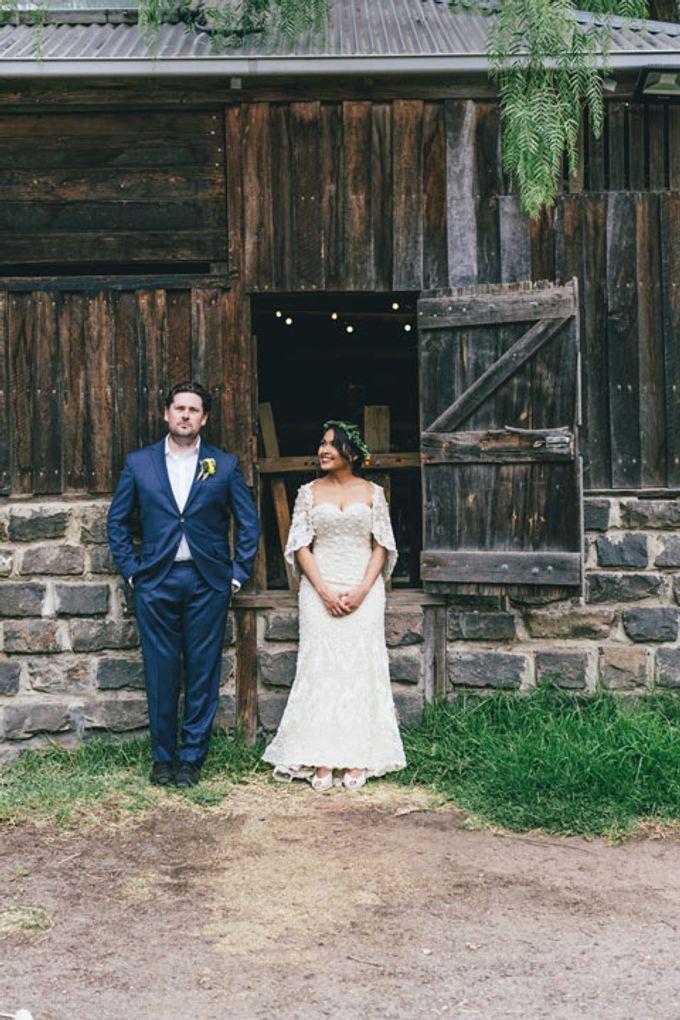 Rustic Wedding of Miranda & James by Elly Liana Makeup Artist - 017