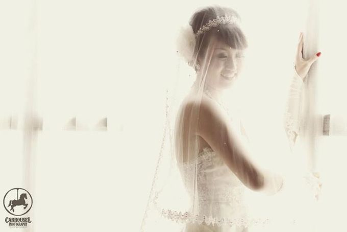 Arthur & Helen Wedding by Carrousel Photography - 003