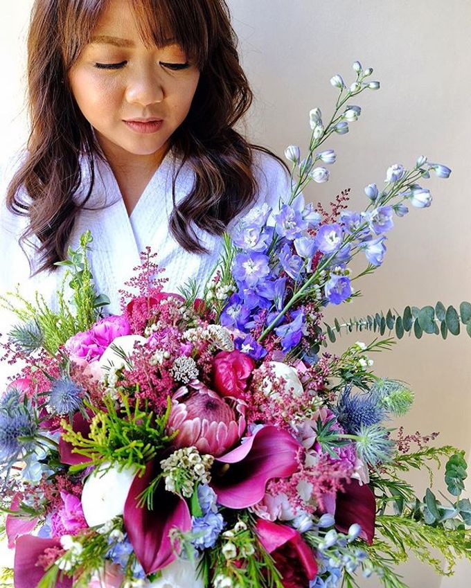 Bouquets  by Weddings by TV - 045