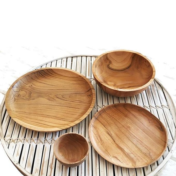 Wood Plates by Serendipicky - 003