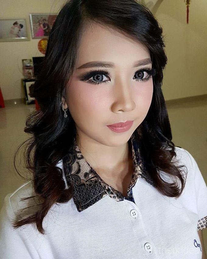 Makeup for Ms. Mega by The Bridea - 004
