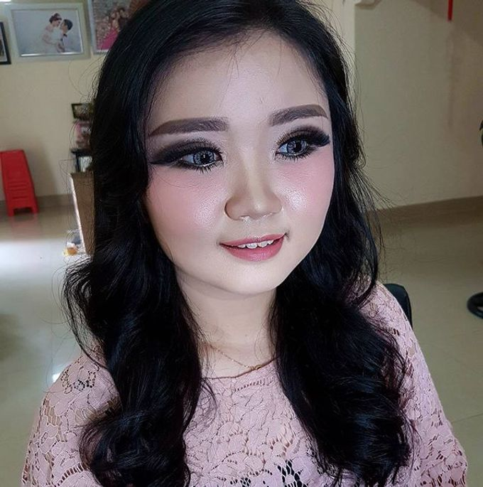 Makeup for Ms Jennifer by The Bridea - 001