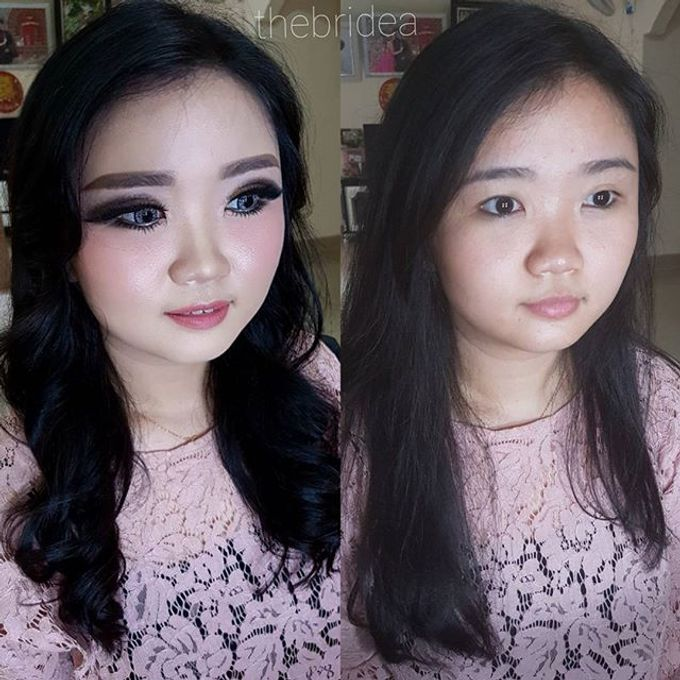 Makeup for Ms Jennifer by The Bridea - 003