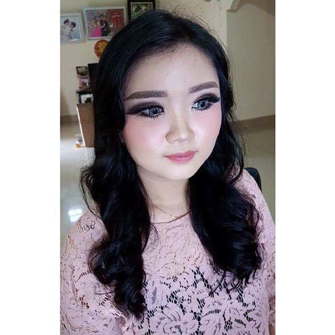 Makeup for Ms Jennifer by The Bridea - 002