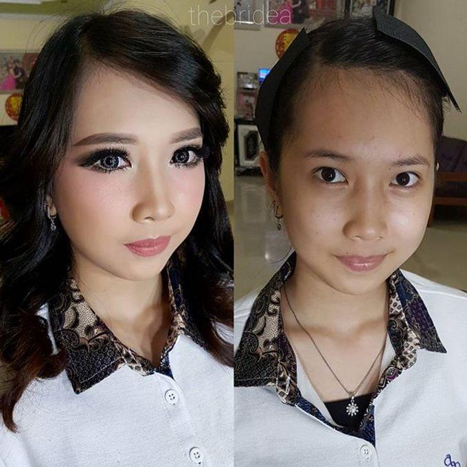 Makeup for Ms. Mega by The Bridea - 005