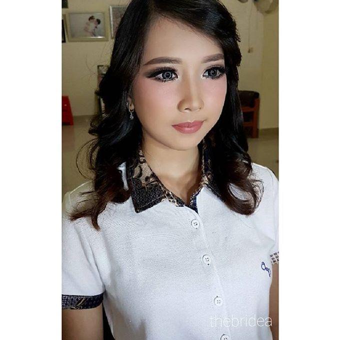 Makeup for Ms. Mega by The Bridea - 003