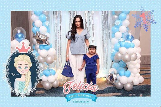 Felicia First Birthday by Laserman show - 006