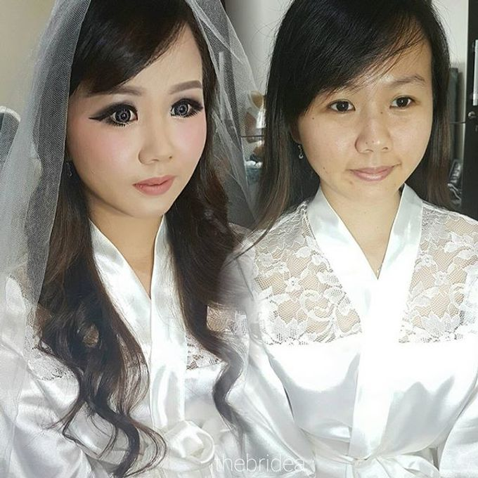 Makeup for Ms Dessy by The Bridea - 005