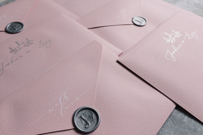 Dusty Pink by Trouvaille Invitation - 004