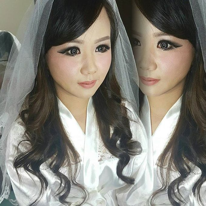 Makeup for Ms Dessy by The Bridea - 003