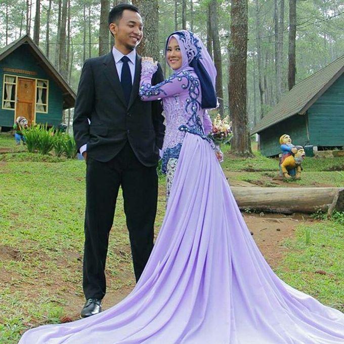 Gaun Modern Tradisional by Inet Rumah Pengantin - 004