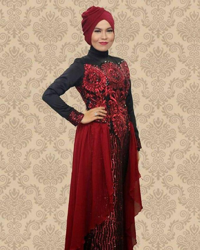 Gaun Modern Tradisional by Inet Rumah Pengantin - 009