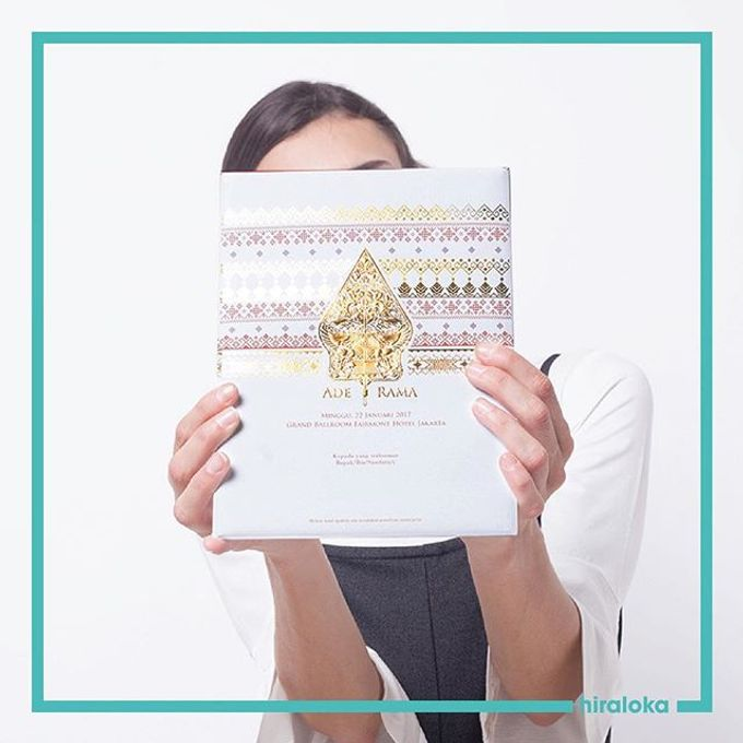 Ade & Rama Wedding Invitation by Hiraloka - 001